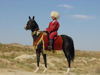 I was in : TURKMENISTAN