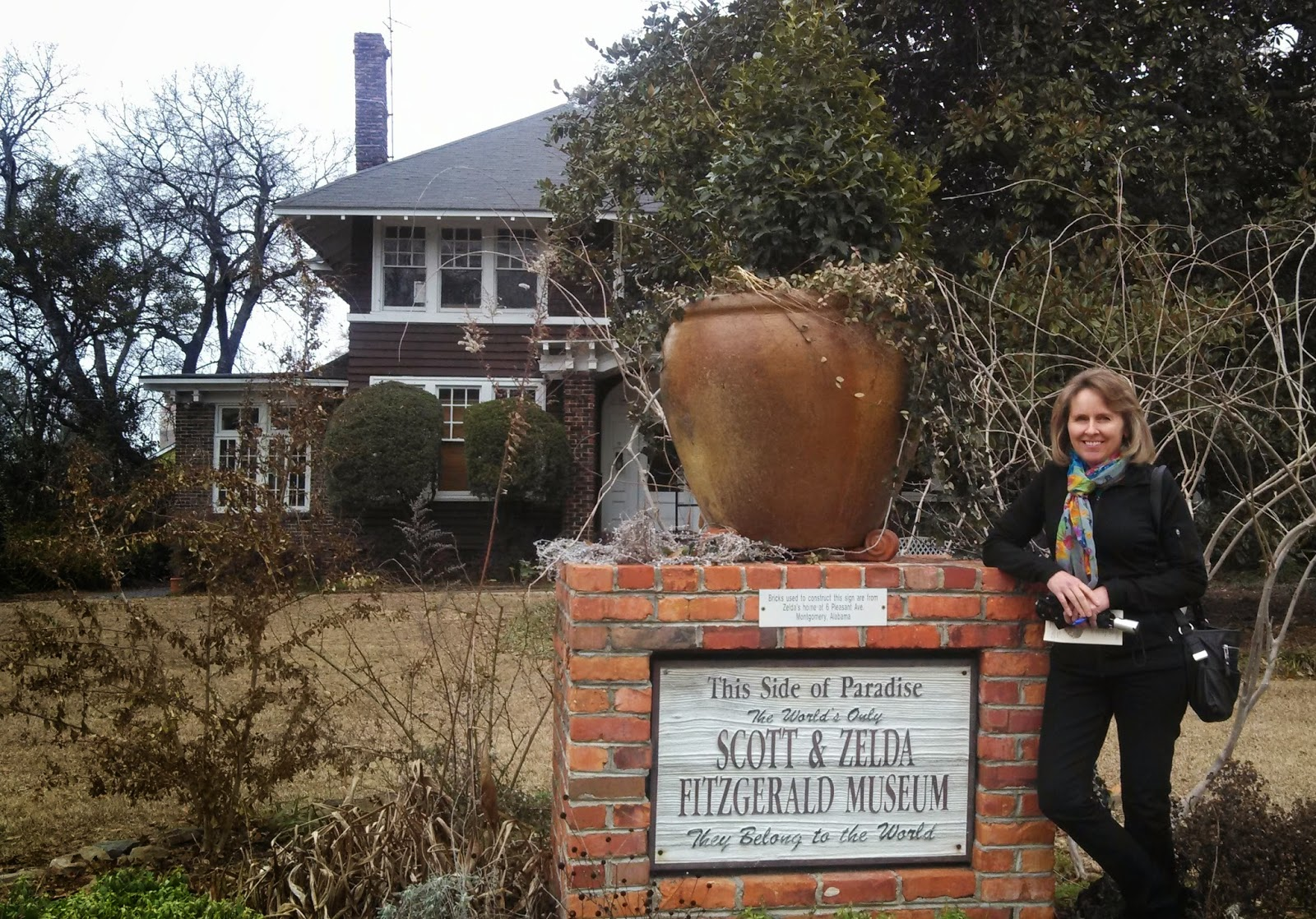 F. Scott and Zelda FItzgerald Home, Montgomery, AL / Souvenir Chronicles