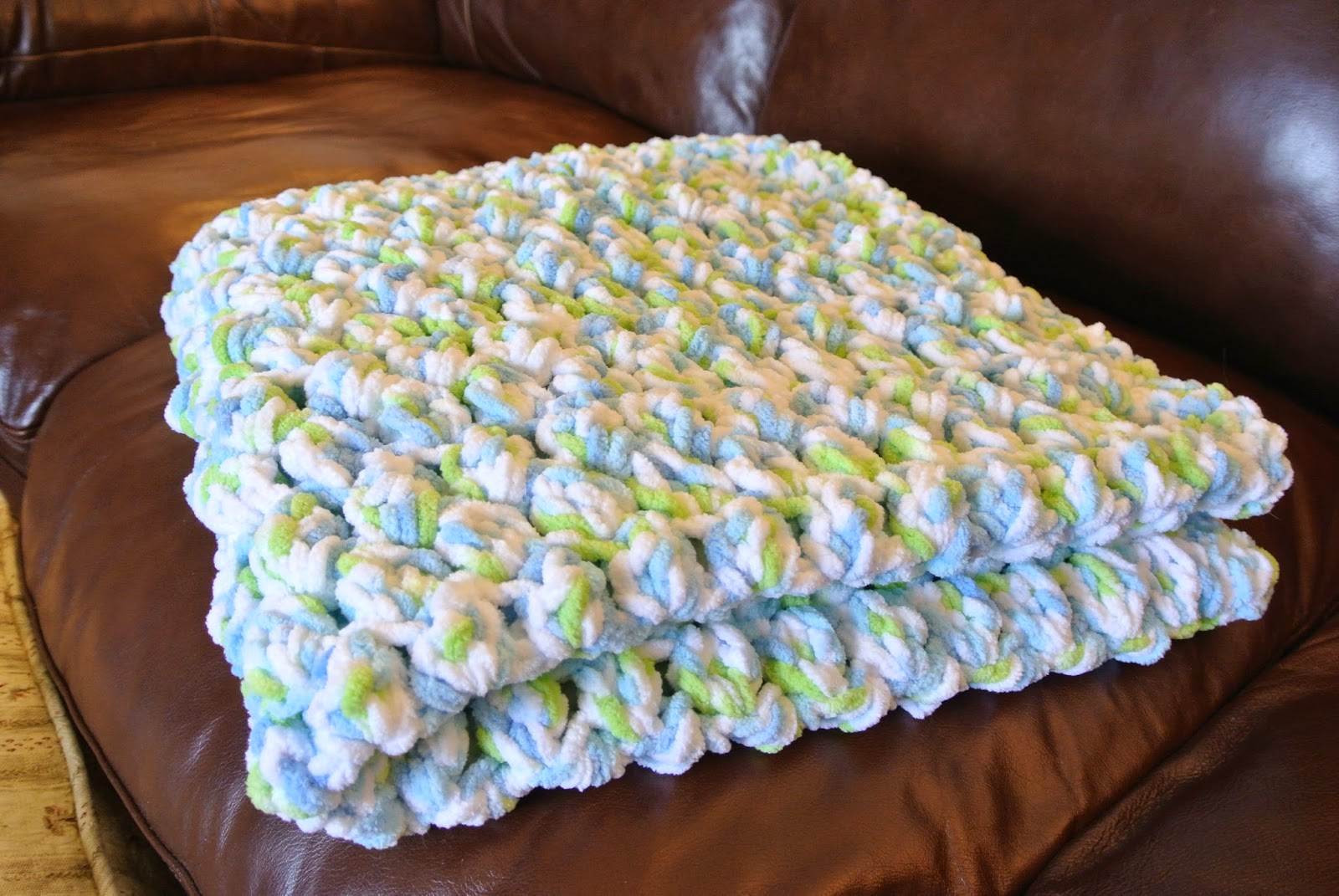 Easy Crochet Baby Blanket Patterns For Beginners : Bunny Blog