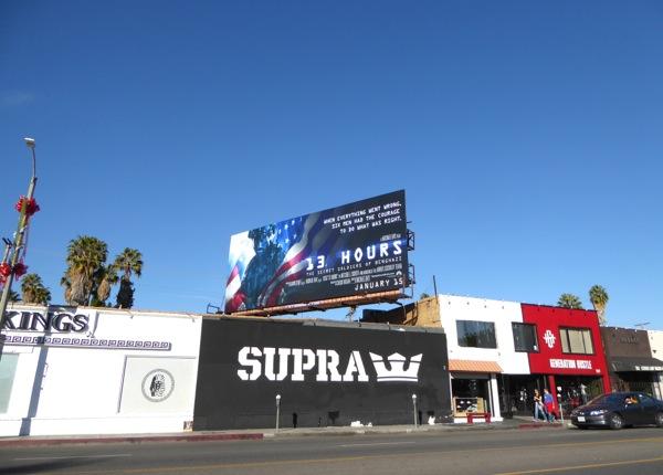 13 Hours billboard