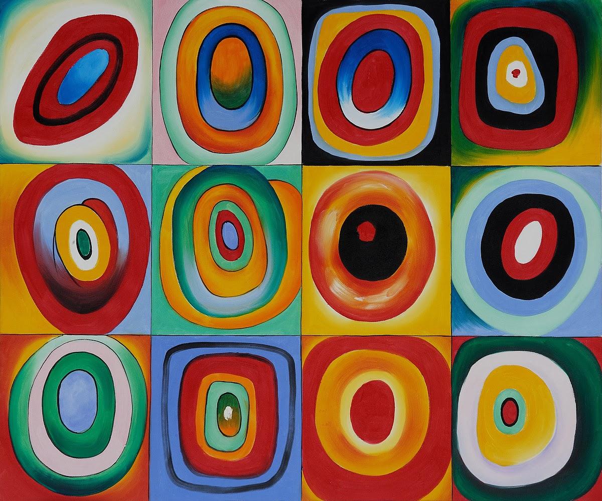 kandinsky pense que les couleurs pures et les formes ont un effet sur notre humeur notre joie notre chagrin - Wassily Kandinsky Lebenslauf