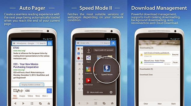 Tải Uc Browser 9.6