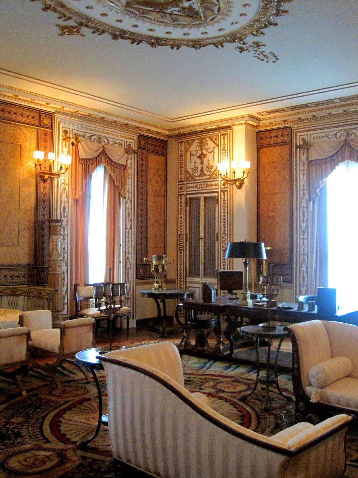 Architect design vizcaya master suite - Italian sitting room photo ...