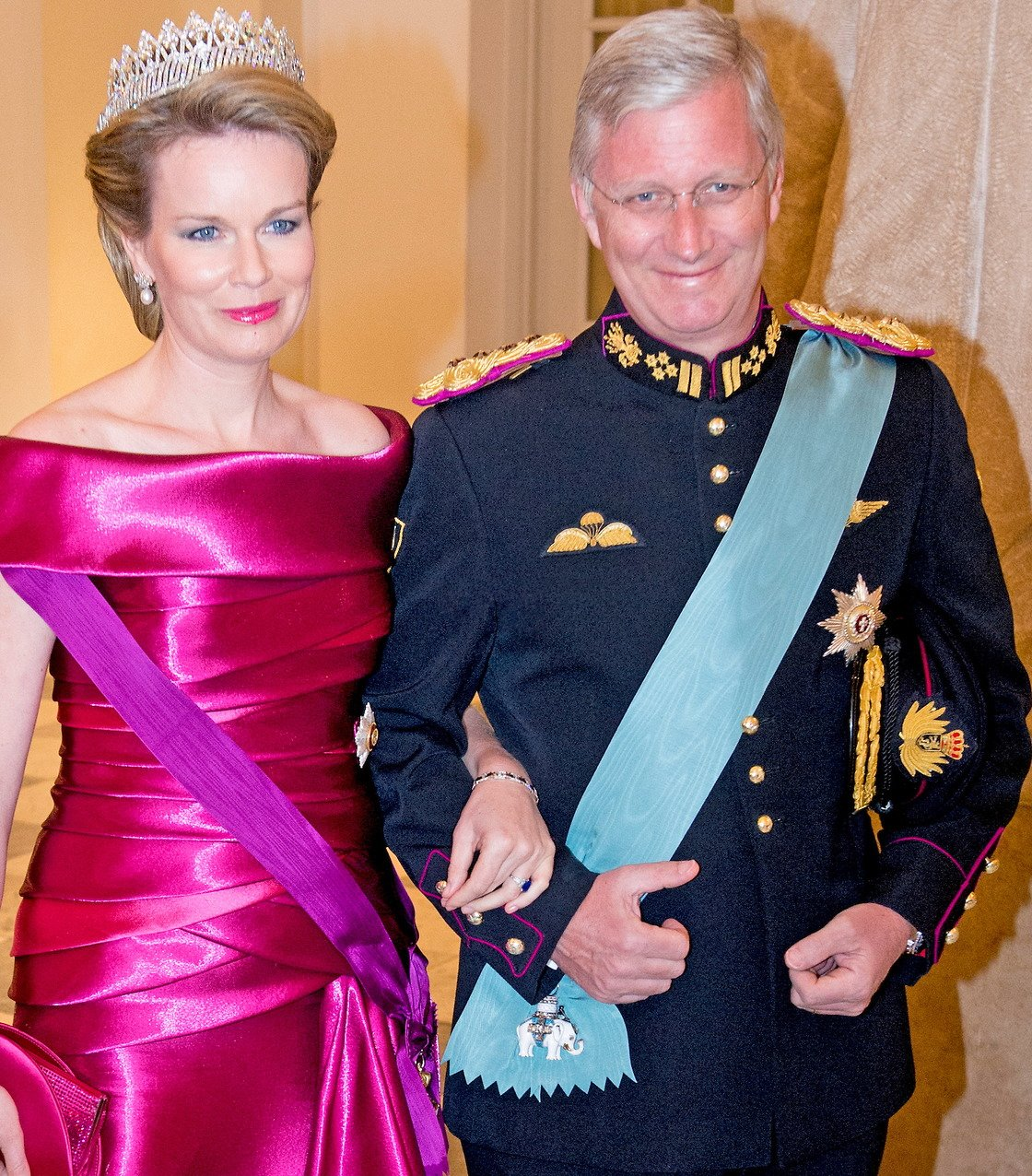 Gala Dinner In Honor Of Queen Margrethe S 75th Birthday At