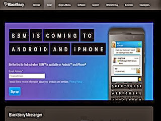 Tips Menginstal BBM For Android Dan iPhone