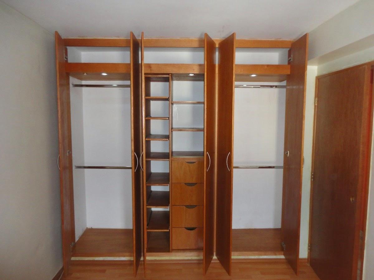 Closet puertas cocinas de madera for Disenos de puertas de madera para closets