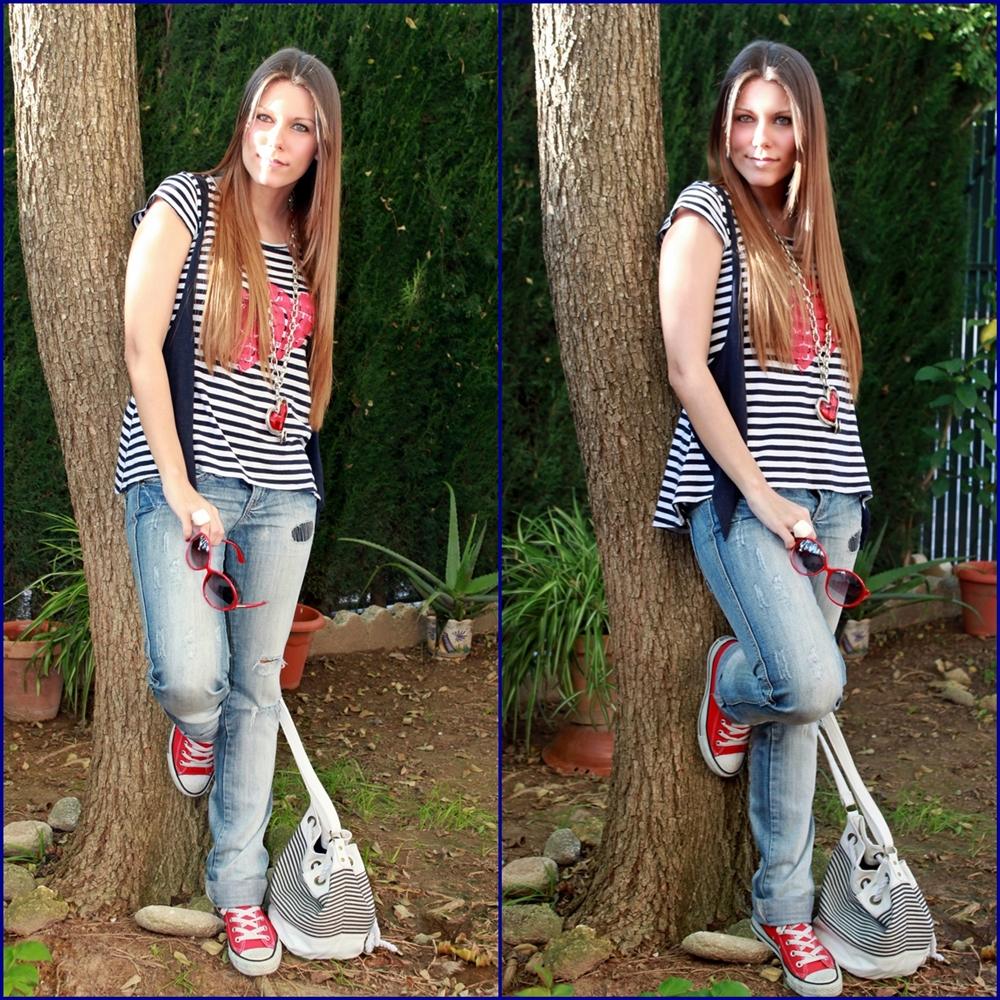 la chica de las converse rojas