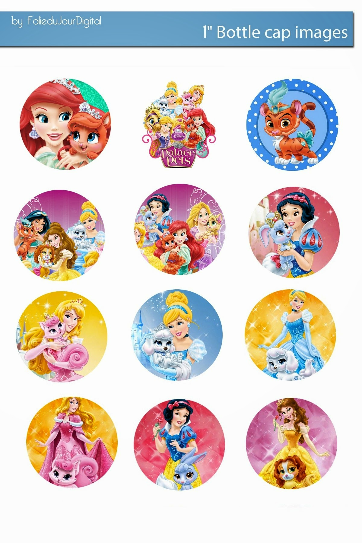 free bottle cap images disney palace pets and princess
