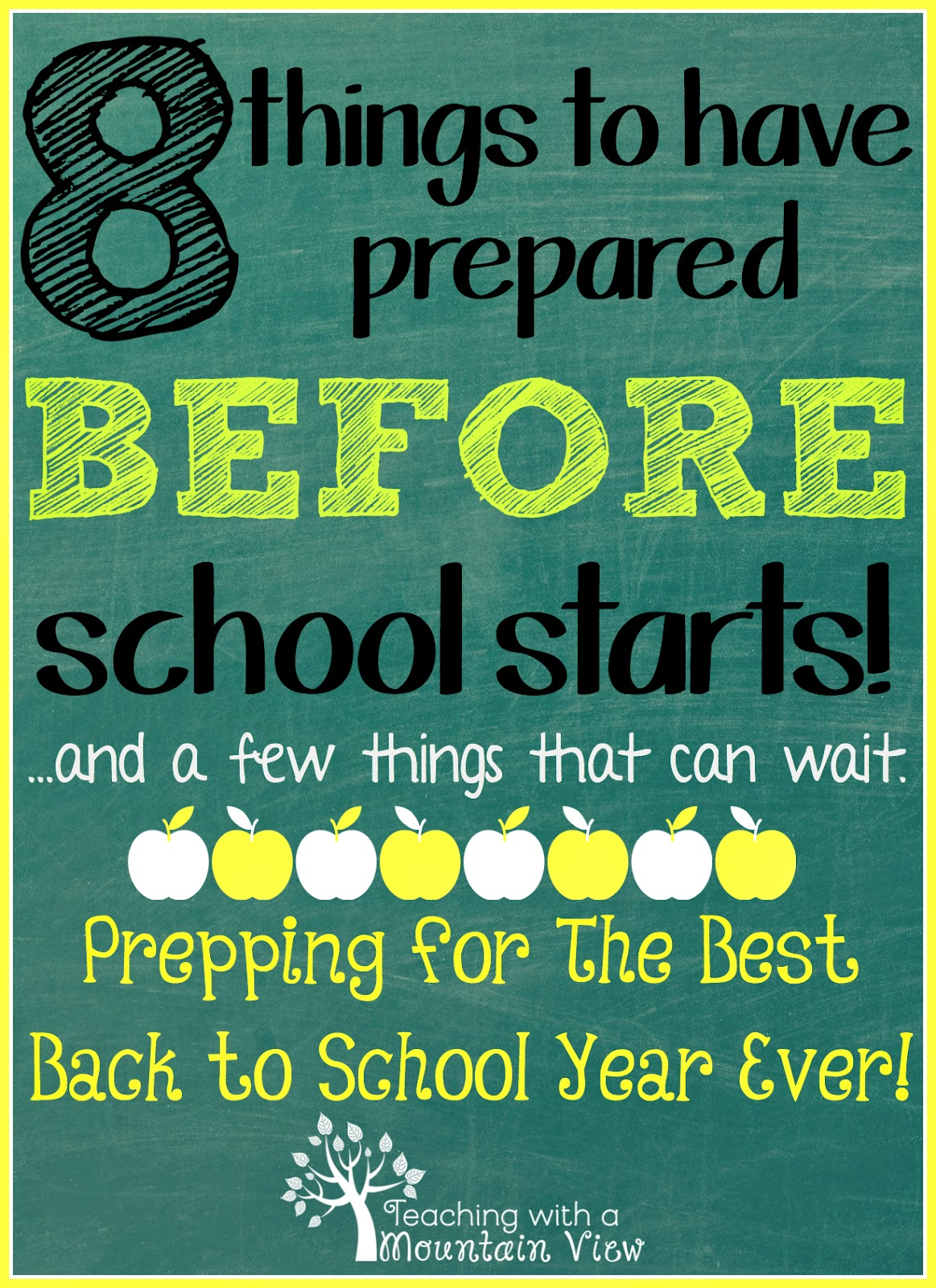 Worksheet Preparing For The First Day Of School teaching with a mountain view smooth sailing back to school tips and giveaway preparing for the new year