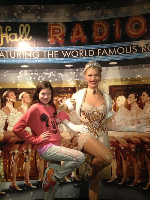 NowThisLife.com - Madame Tussauds - New York - Rockettes