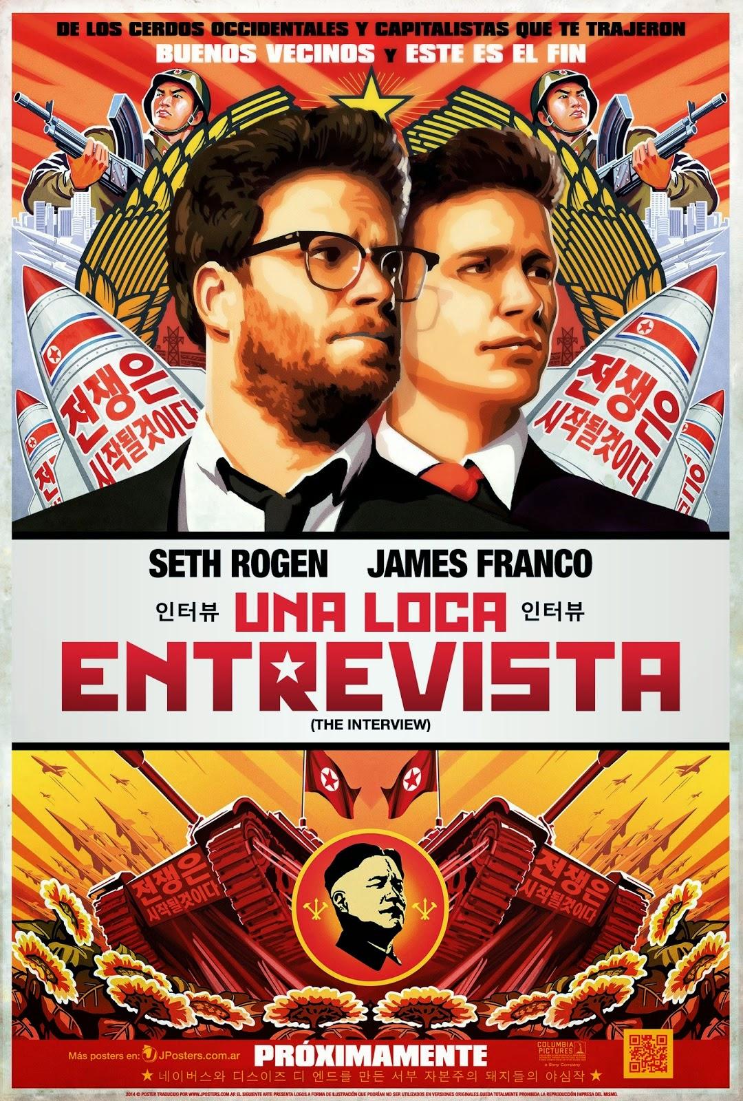 Descarga Una loca entrevista (2014)[Latino][DVDRip][Mega][1f] (2014) 1 link Audio Latino