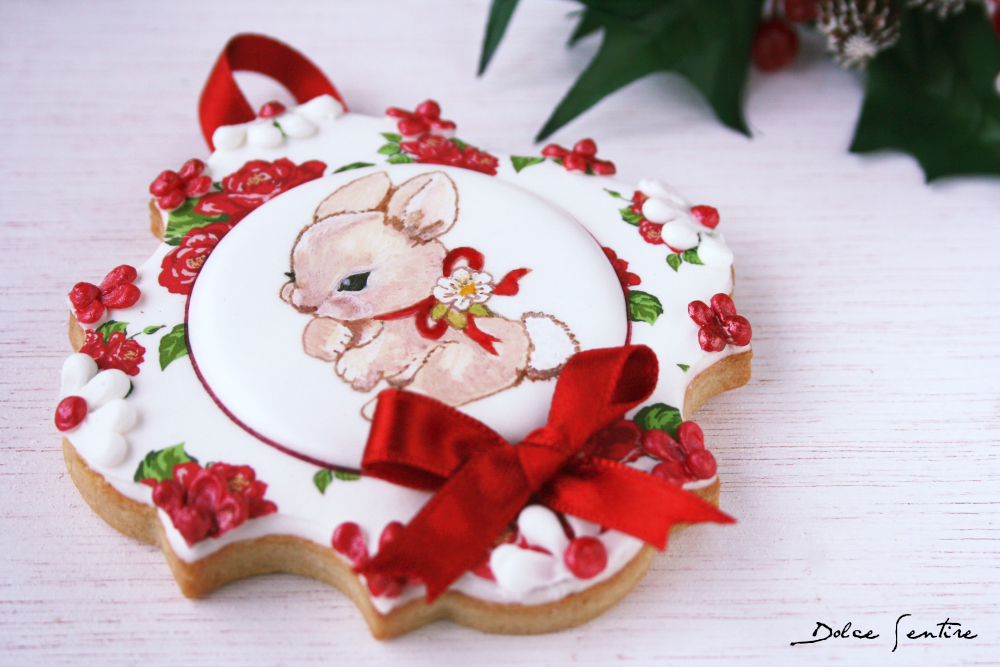 Christmas is coming...Cómo decorar galletas con papel de azúccar {Video Tutorial}