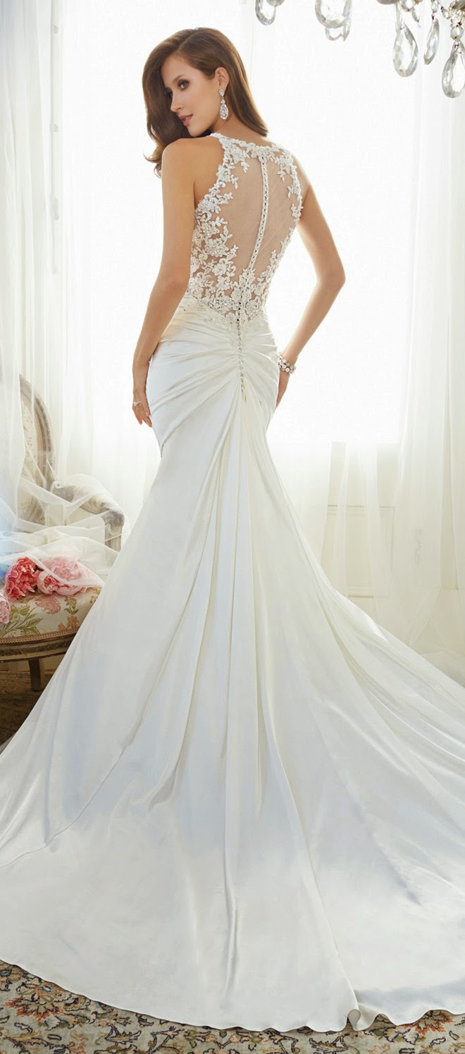 Sophia tolli 2015 bridal collection belle the magazine for How much is a custom wedding dress