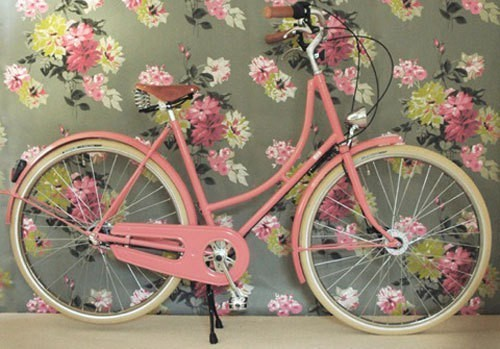 En bicicleta y con estilo