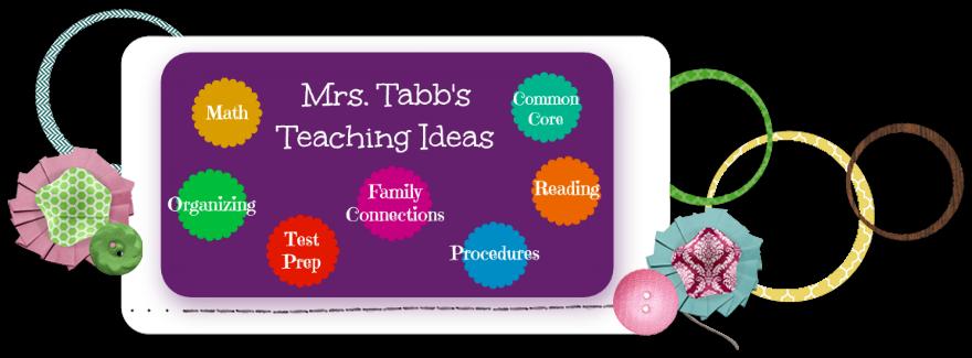 Mrs. Tabb's Teaching Ideas