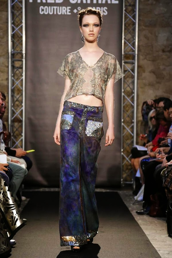 Haley Sutton - Fred Sathal Paris Haute Couture - Cast Images