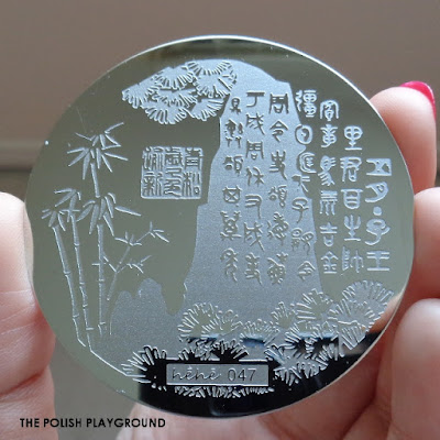 Lady Queen - Stamping Plate Hehe 047 Review
