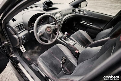 Subaru WRX STi Interior Upgrades