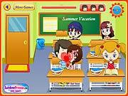 Hôn nhau mùa hè, game vui