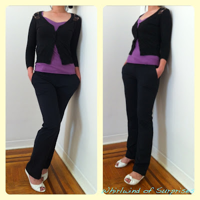 Black cardigan review