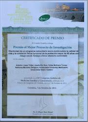 Premio Investigación