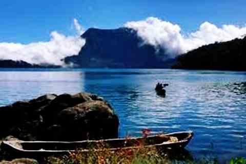 Danau Gunung Tujuh Kerinci Jambi sebagai Danau Tertinggi di Indonesia dan Asia