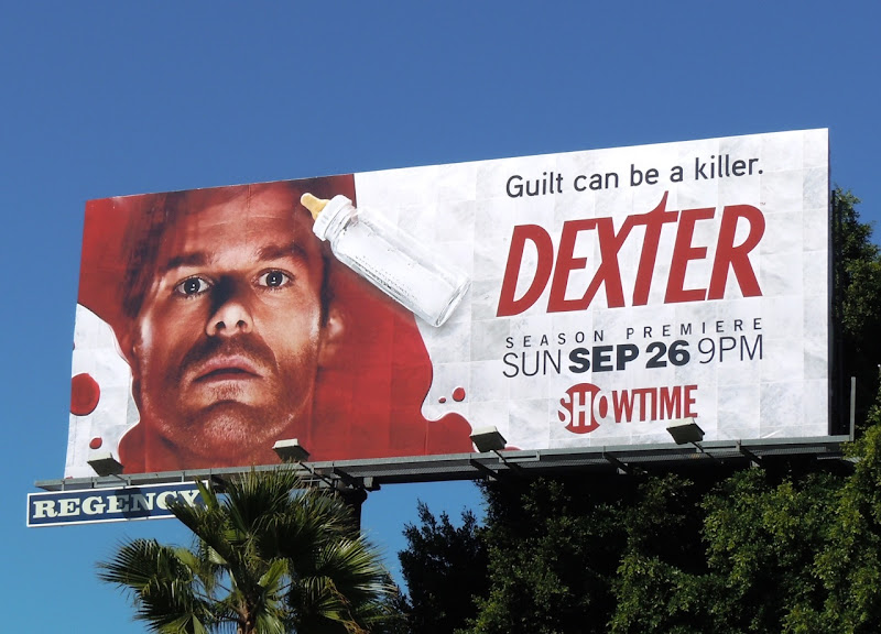 Dexter season 5 Showtime billboard