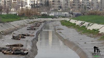 78 mayat dijumpai dalam sungai di Aleppo