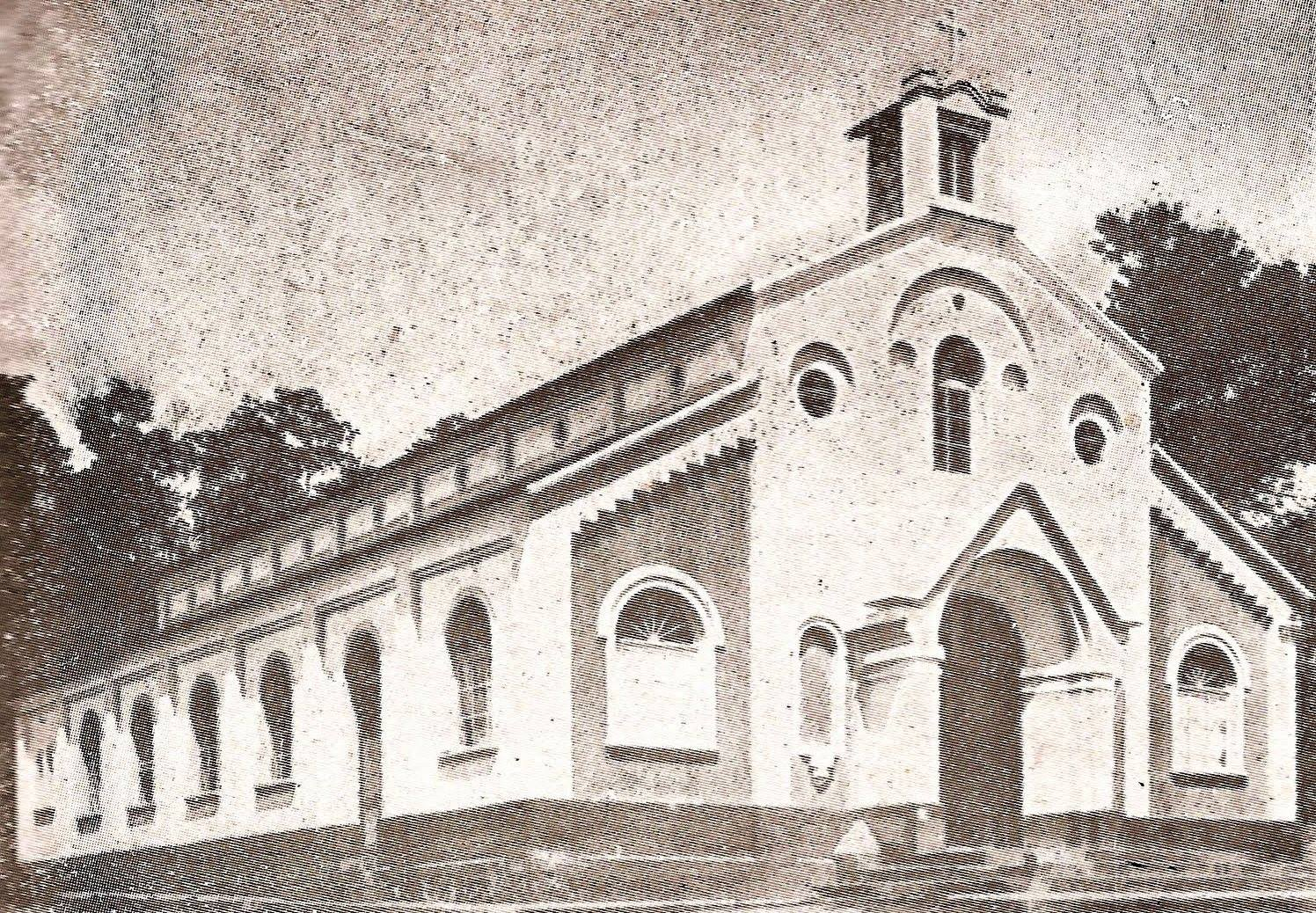 Primeira Capela que foi consumida em um incêndio e depois veio a ser a atual Igreja da Glória