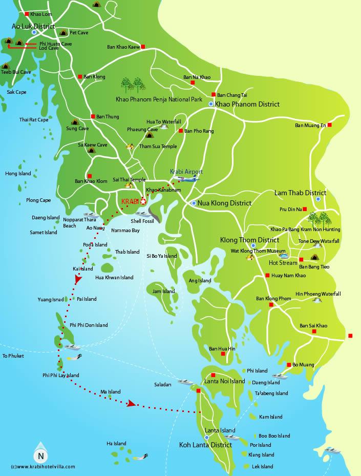 ThailandHoneymoon; Krabi