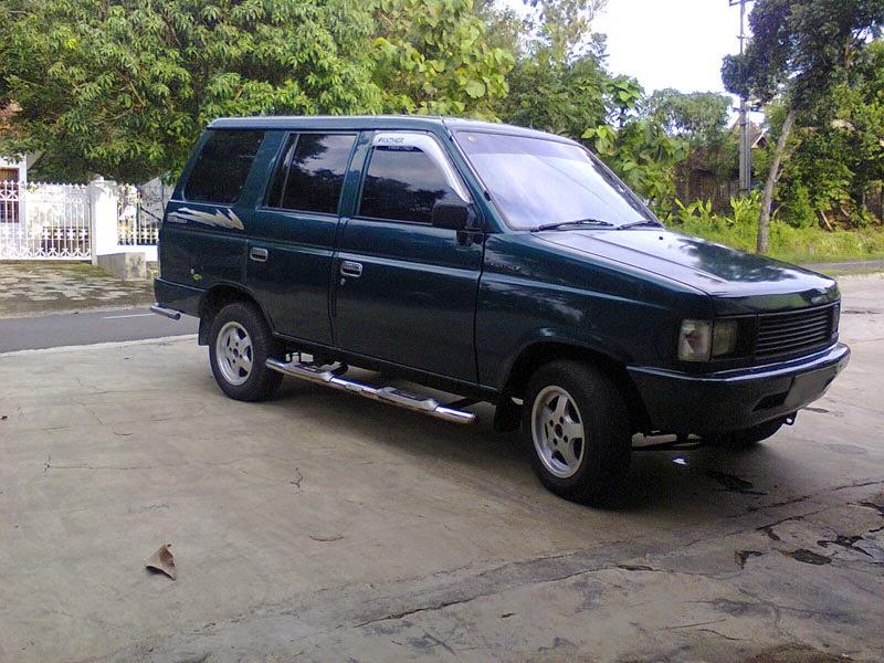 modifikasi mobil isuzu panther 1995
