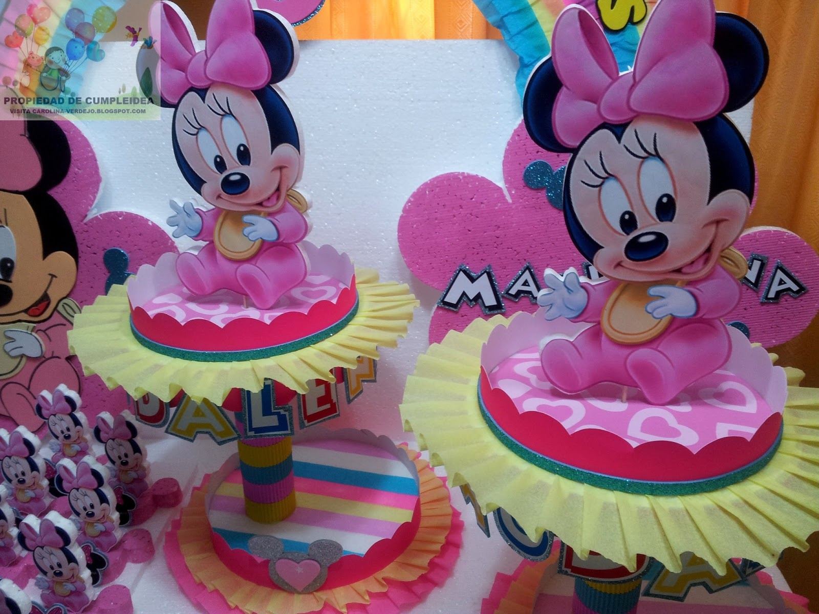 Decoraciones Infantiles Minnie Bebe