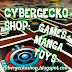 Now Open! Cybergecko Shop: Games Manga Toys Kaiju