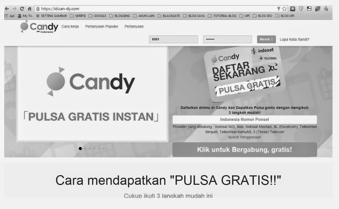 Situs Candy Bagi-Bagi Pulsa Gratis