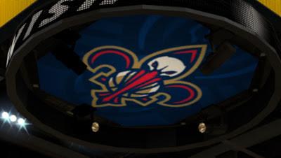 NBA 2K13 New Orleans Pelicans Court Mod