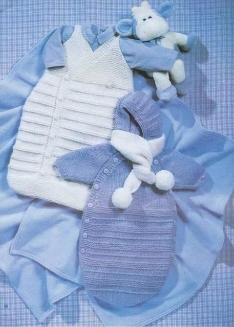 для новорожденных спицами Вязание для