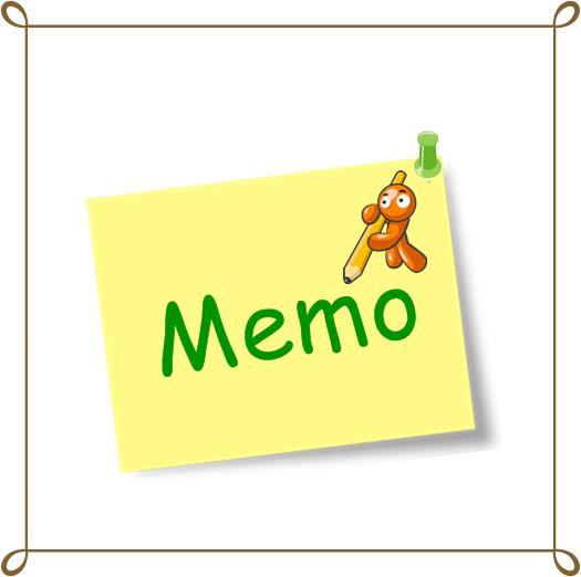 Contoh Memo Dalam Bahasa Inggris