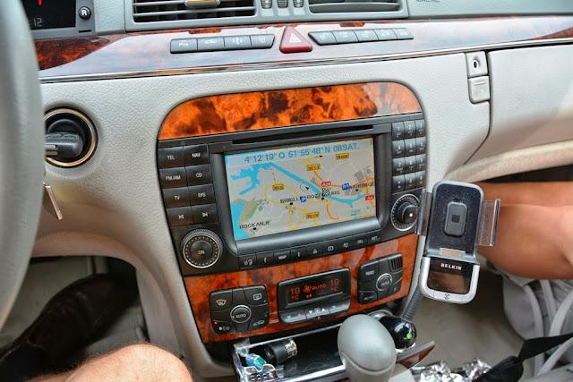 Mercedes S320 CDI Navigation