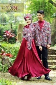 Model baru baju muslim couple