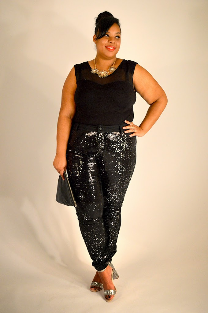 HOW TO| Wear Sequin Pants Pt I | Supersize My Fashion