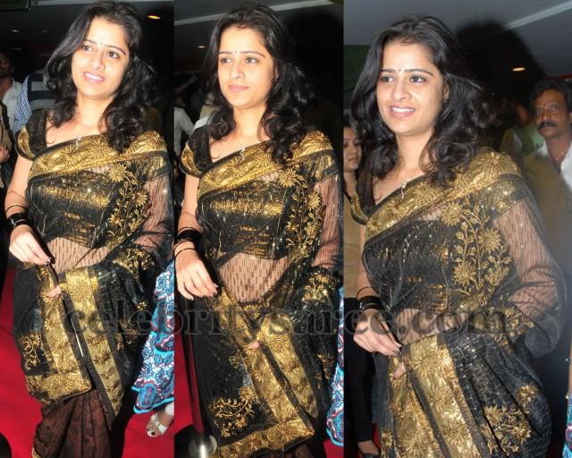 Satya in Transparent Saree