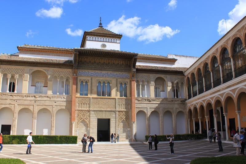 voyages cie blog voyage l jolie d couverte l gourmandise s ville 6 le palais reales alcazar. Black Bedroom Furniture Sets. Home Design Ideas
