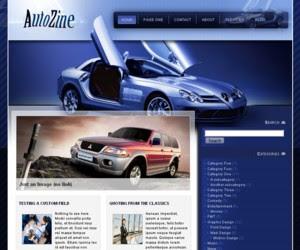 Autozine Wordpress Theme