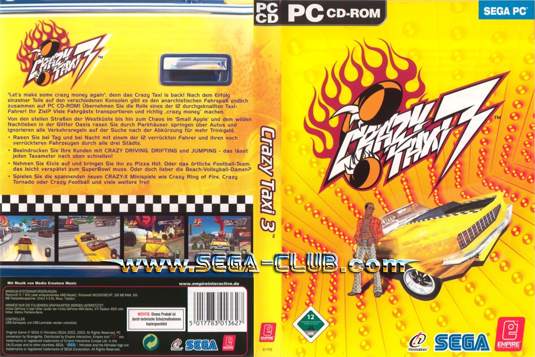 crazy taxi free  full version for pc