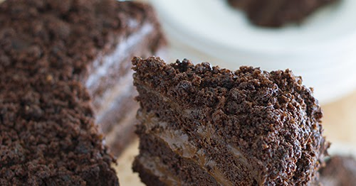 recipe: chocolate pudding filling for cake [14]