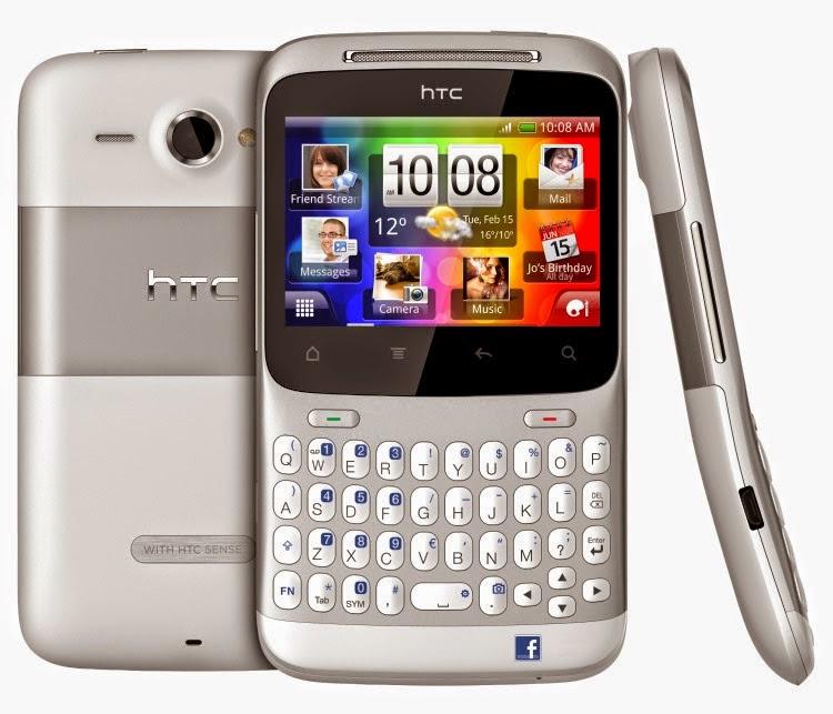 Spesifikasi dan Harga New HTC ChaCHa Berkamera 5MP Terbaru