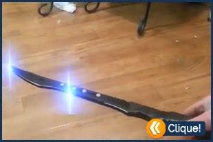 Espada Taser caseira