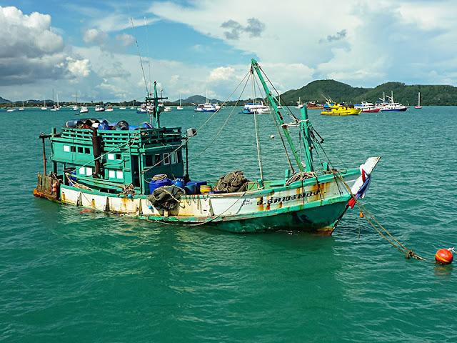 Tajlandia - Kuter rybacki