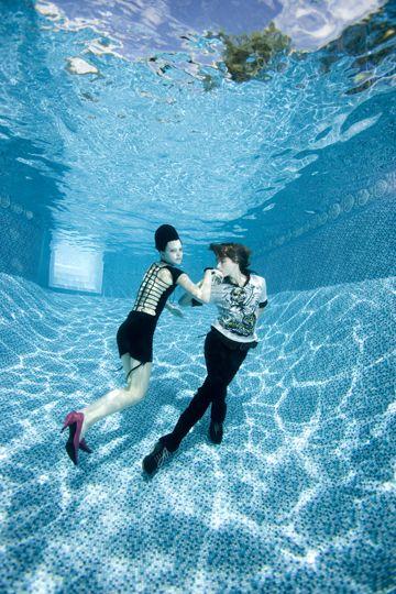 barbara cole fotografia sub aquática luz água