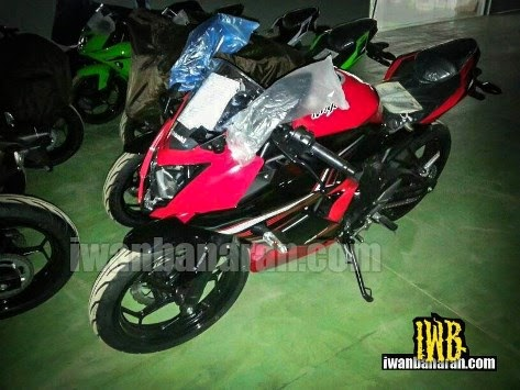 Ternyata itu adalah Kawasaki Ninja 250 RR satu silinder..!